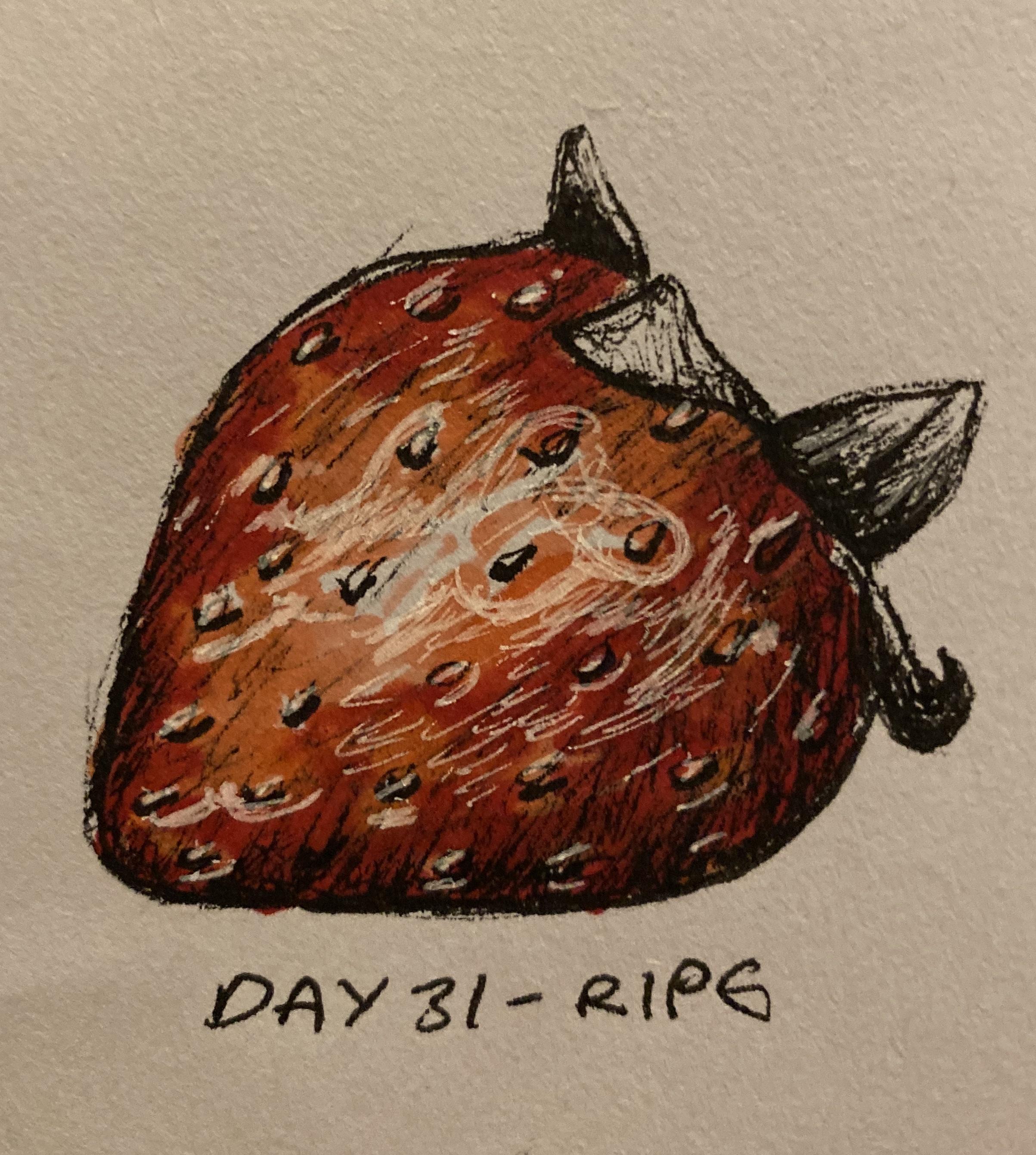 Day 31 Inktober - Ripe