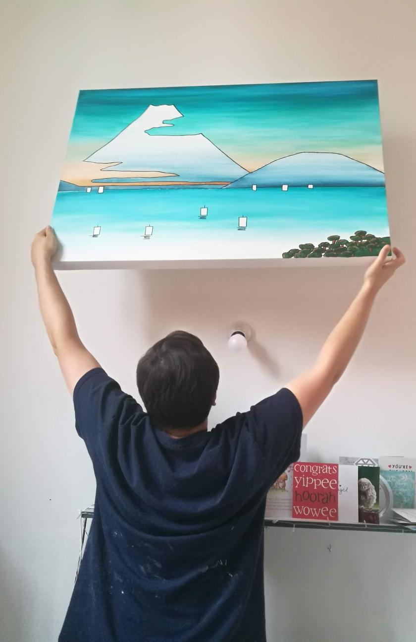 hanging mount fuji